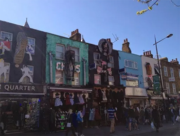 One Of The London's Top Attractions; Camden Town