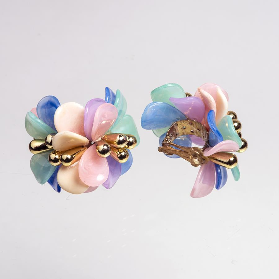 1950s Colourful Earrings