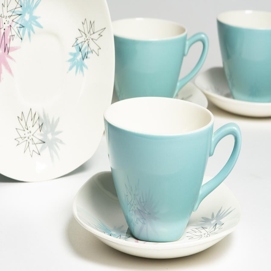 1950s Midwinter Cups & Saucers