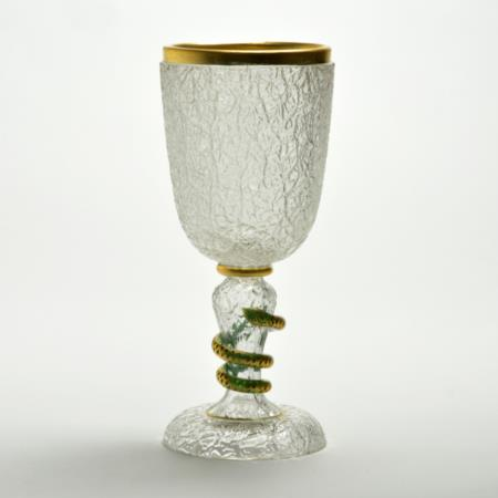 1960s Baccarat Serpant Chalice